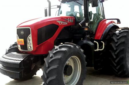 Китайские тракторы занимают в Украине все новые ниши