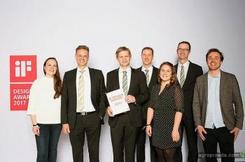Claas получил «золото» международного конкурса дизайна iF Design Award