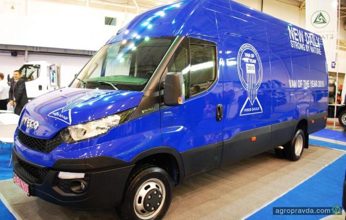 Фургон 2015 года IVECO Daily уже доступен в Украине