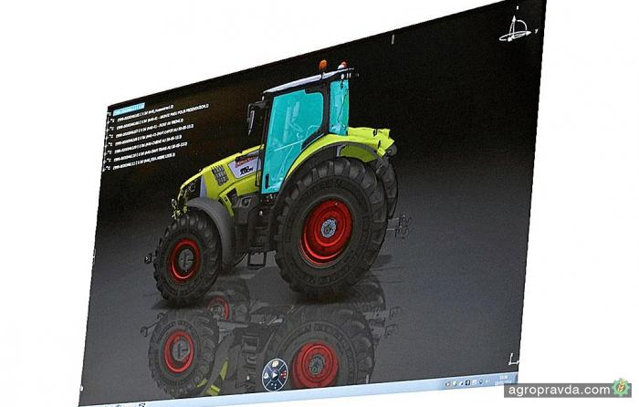 Claas раскрыл секреты производства тракторов
