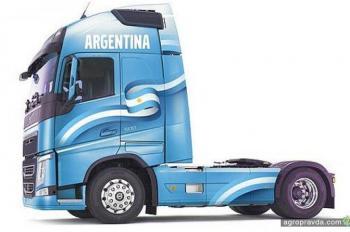 Покупатели спецверсий грузовиков Volvo FH поедут в Аргентину