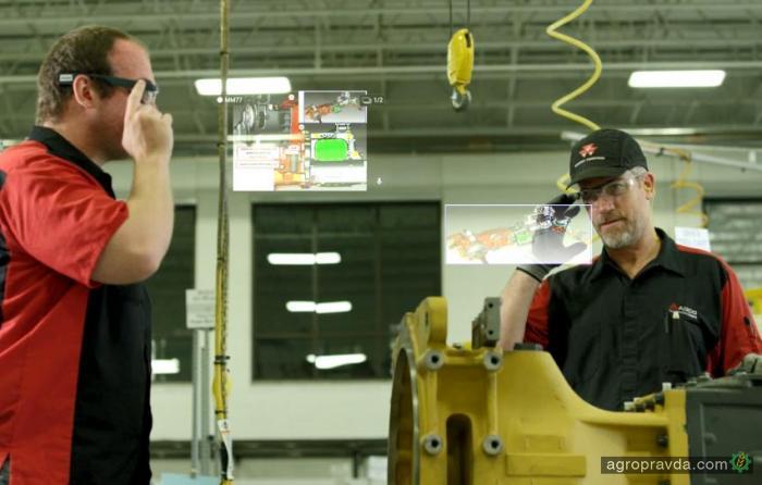 Очки Google Glass стали применять при производстве сельхозтехники
