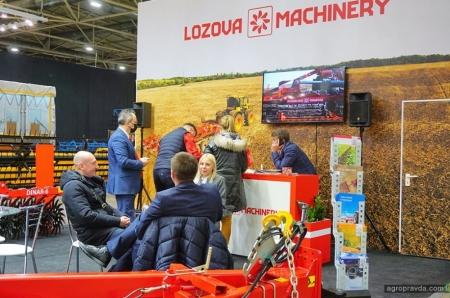 Lozova Machinery представила обновленные агрегаты на выставке «Зерновые технологии»
