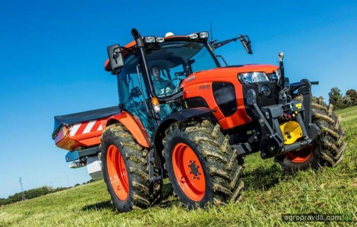 Kubota запускает тракторы M5001-й серии