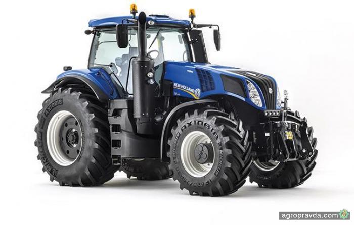 New Holland представит обновленный трактор T8