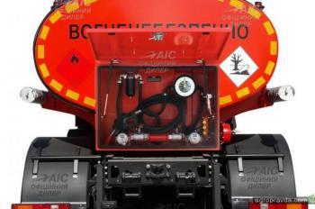 В Украине доступны две новые модели топливозаправщиков на базе МАЗ