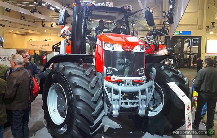 Massey Ferguson презентовал новую серию тракторов