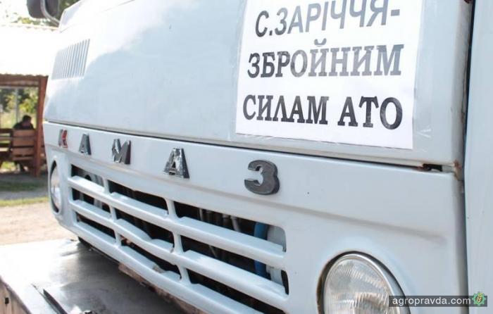 Сельские предприниматели отремонтировали военную автотехнику