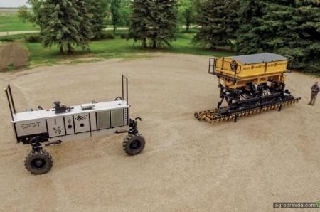 Создан универсальный беспилотный носитель для сельхозагрегатов