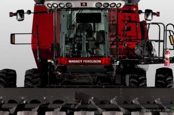 Massey Ferguson представит инновационный комбайн для Украины