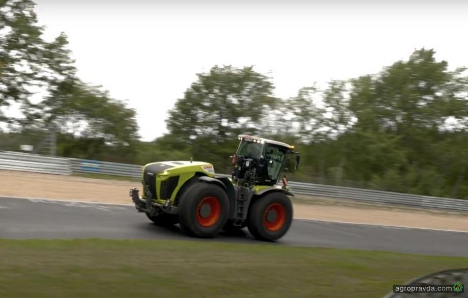 Трактор Claas установил рекорд Нюрбургринга