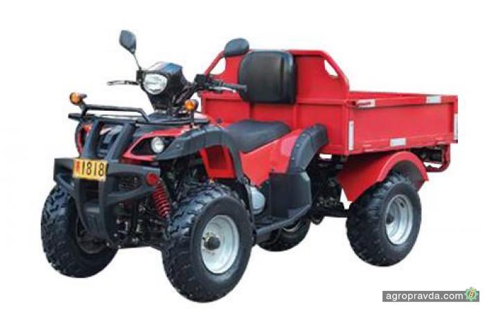 На рынок Украины выходят аграрные квадроциклы