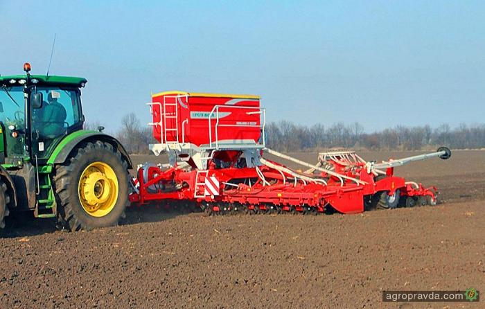 Обновленный посевной комплекс Terrasem Fertilizer уже в Украине