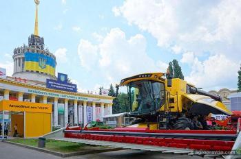 Какую технику New Holland продемонстрировал в Киеве