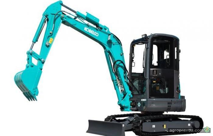 Kobelco представил новые мини-экскаваторы