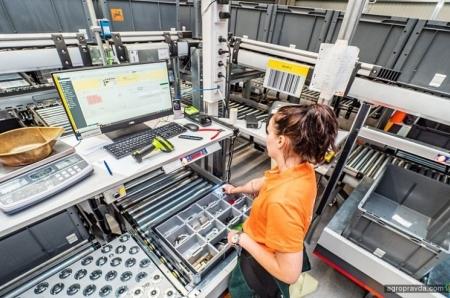 Amazone открыл новый центр запасных частей