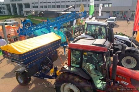 На AGROSHOW Ukraine 2019 АСА «Астра» представляет инновационную технику