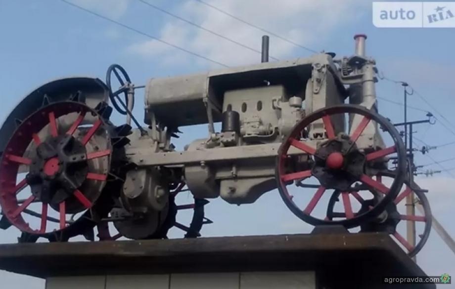 Сколько стоят в Украине раритетные трактора