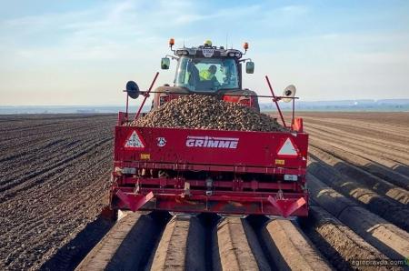 В «Континентал Фармерз Групп» идет посадка картофеля