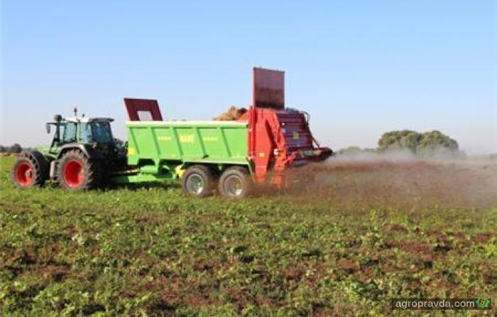 Hawe Wester представляет новый разбрасыватель удобрений