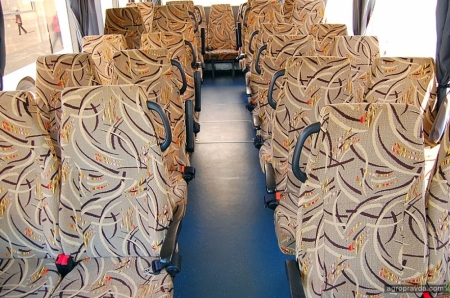 МАЗ представил в Украине автобус для сельской местности