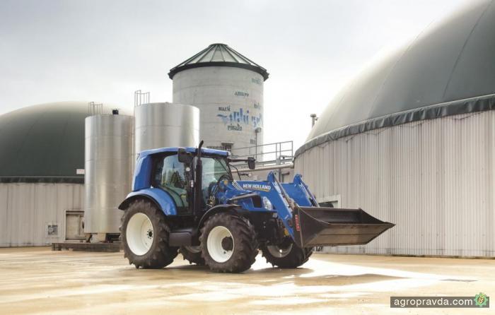 New Holland представит метановый трактор