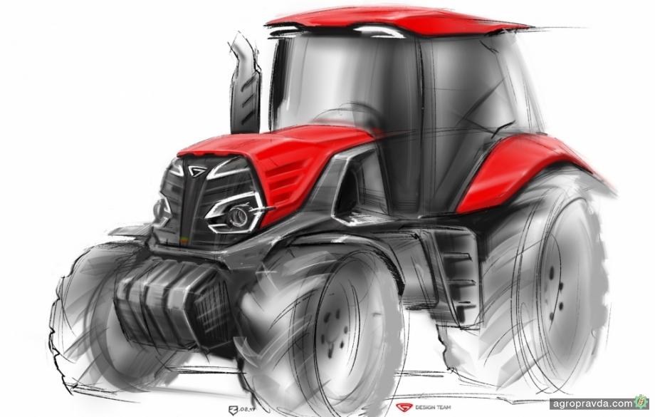МТЗ представит на выставке в Ганновере концепт нового трактора