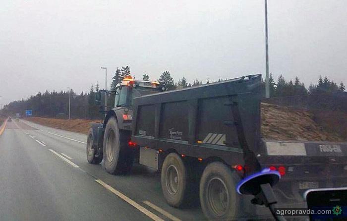 В Европе вводят налоги на передвижение тракторов