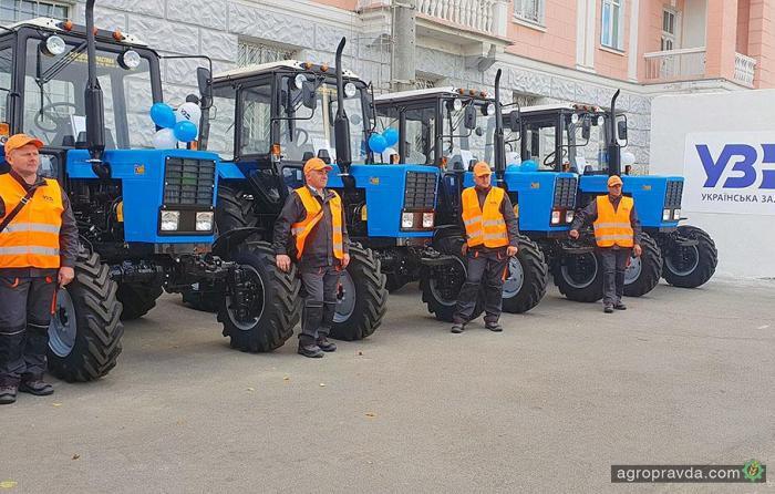 Отечественные тракторы «Кий» пополнили парк «Укрзалізниці»