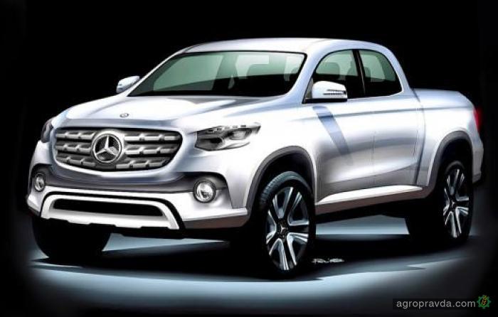 Mercedes-Benz для фермеров разрабатывает пикап