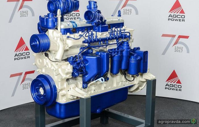 AGCO Power выпустил миллионный двигатель к 75-летию бренда
