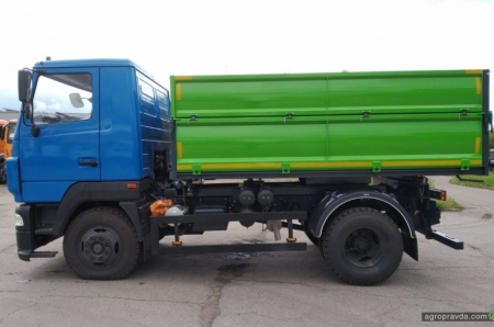 Украинский производитель представил новую модификацию самосвала МАЗ