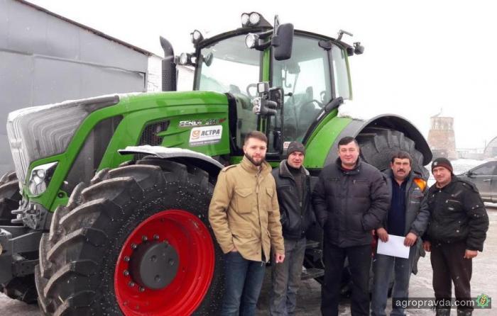Стало известно о первых поставках тракторов Fendt в 2017 г.