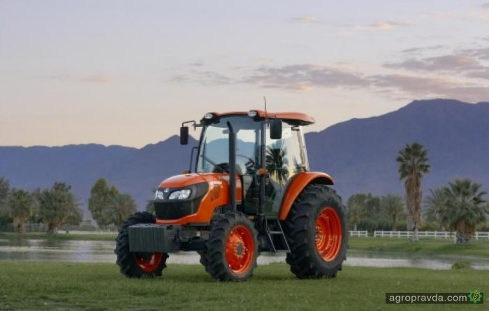 Kubota представил новые трактора общего назначения