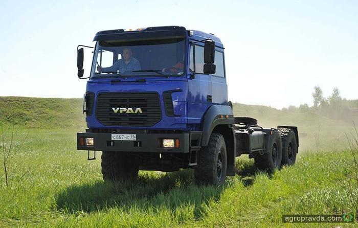 «Урал» модернизировал сельхозгрузовики