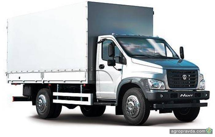 В Украине стартовали продажи нового поколения грузовика ГАЗон NEXT