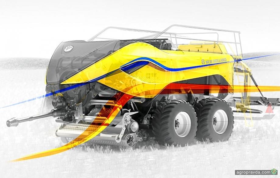 Пресс-подборщик New Holland BigBaler 1290 победил в конкурсе Good Design Award 2020