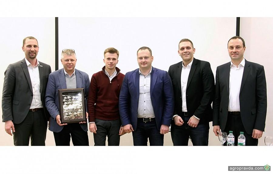 Titan Machinery Ukraine стал лучшим продавцом самоходной техники Case IH