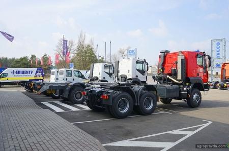 В Киеве показали линейку полноприводных IVECO