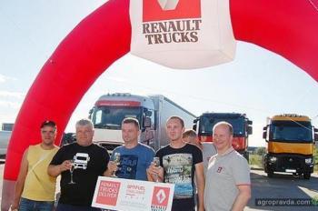 Грузовики Renault Trucks поразили своей экономичностью
