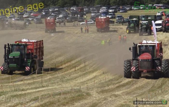 John Deere против Versatile: какой трактор быстрее. Видео