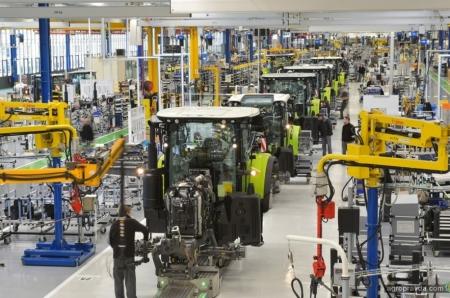 Заводы CLAAS восстановили производство сельхозтехники