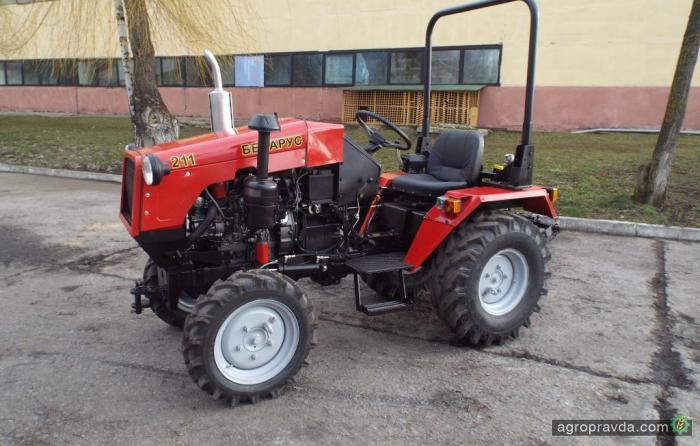 Трактор Беларус-211 заменит ... штангу