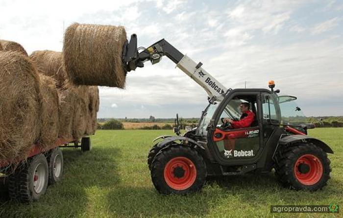 Bobcat представит новые аграрные «телескопы»