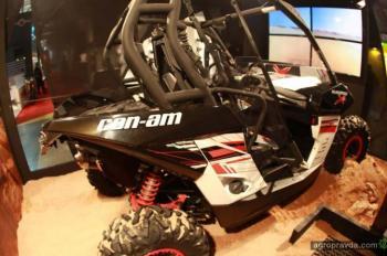 Can-Am представил в Милане новинки