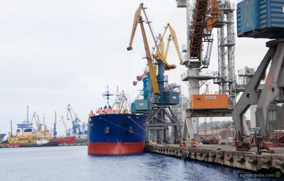 В Мариупольском порту возобновлены работы по строительству зернового терминала