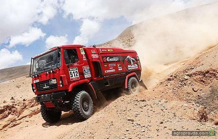 МАЗ на Дакаре 2016 испытывает новейший грузовик