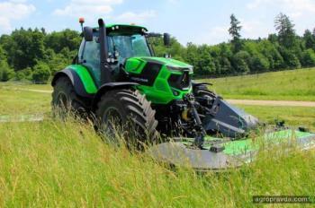 Deutz-Fahr представил три новые модели тракторов