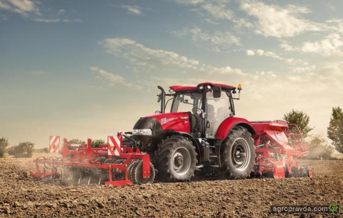 Case IH обновил трактора Maxxum