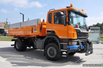 Scania готовит компактные самосвалы для агрохозяйств